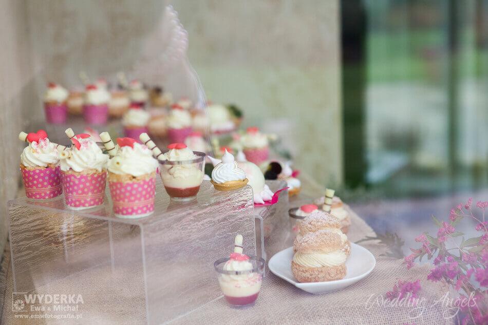 specjały francuskiego cukiernika naotwarciu biura Wedding Angels