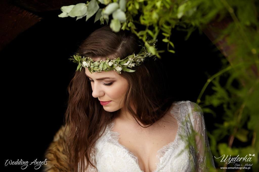 styl boho na ślubie, sesja rustykalna 2017, naturalna Panna Młoda