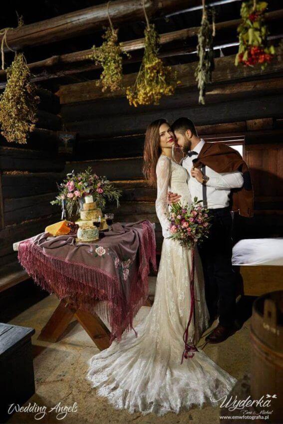 rustykalny ślub