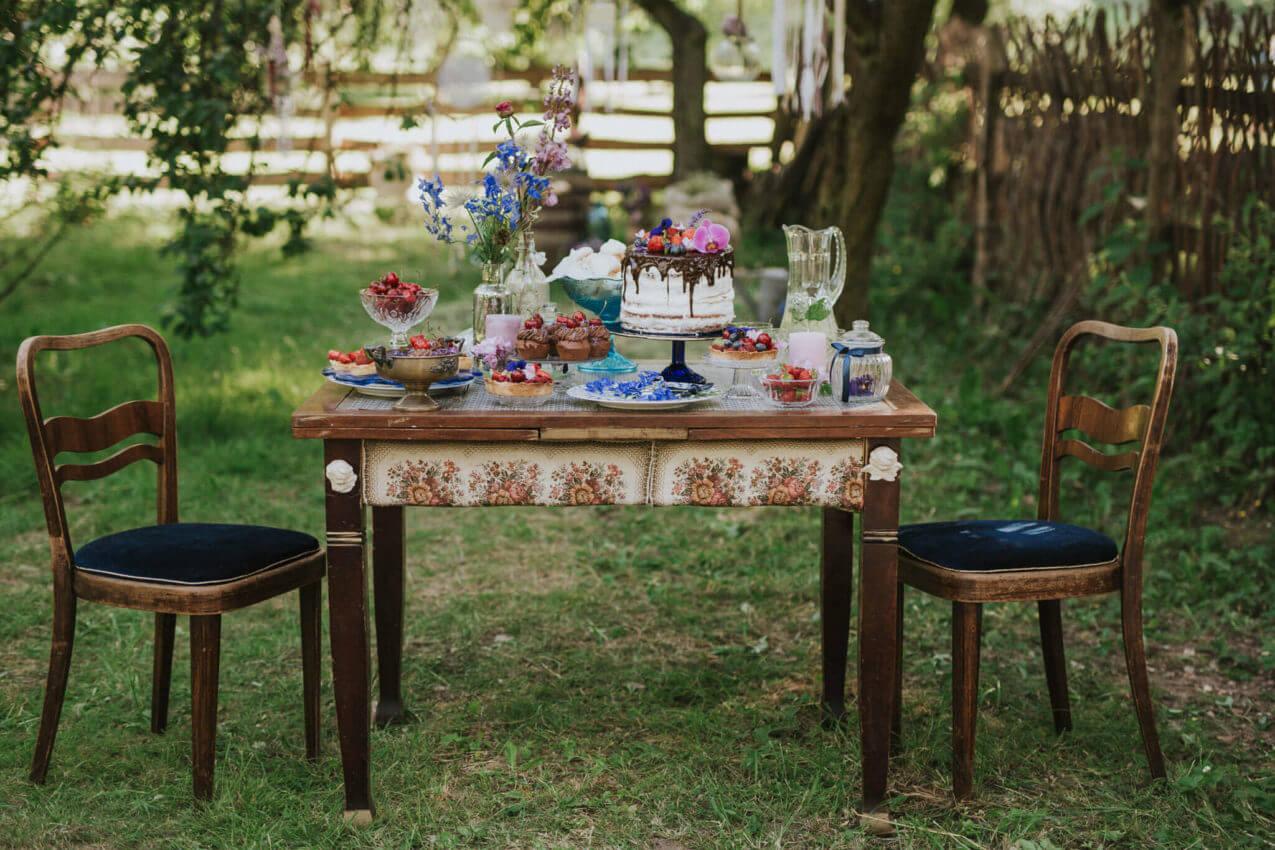 rustykalny słodki stół 2