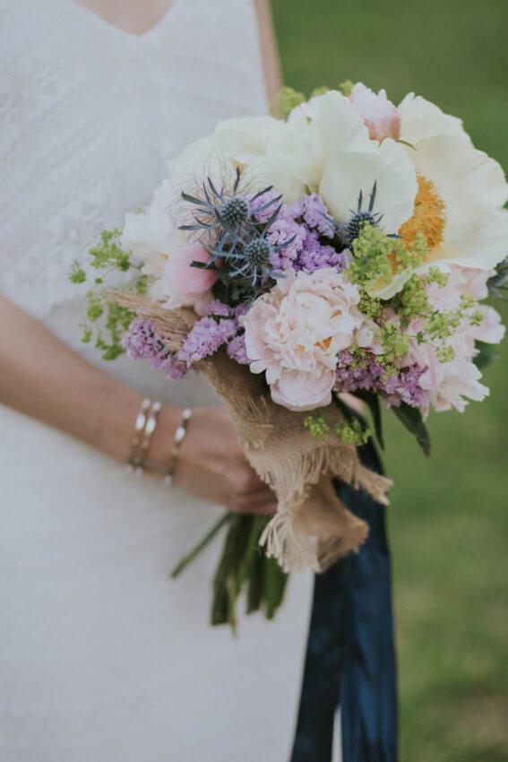 bukiet weselny panny młodej