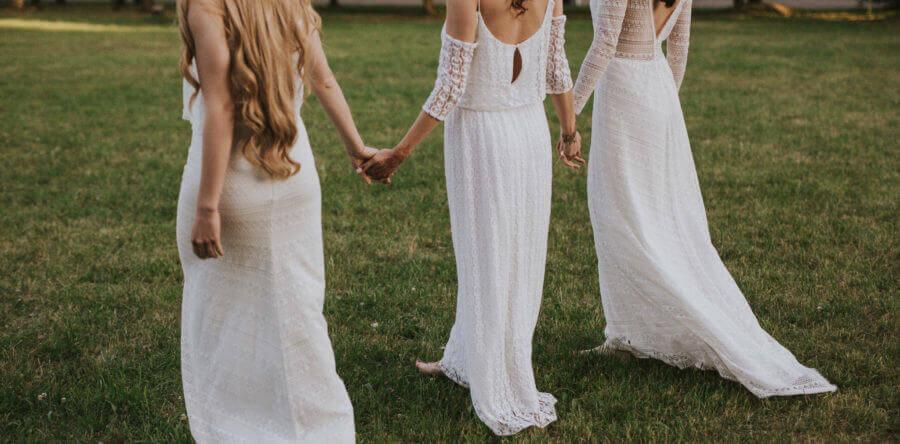 Ślub w stylu boho, sesja foto