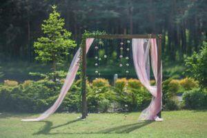 dekoracja pleneru ślubnego