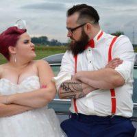 pin -up ślub