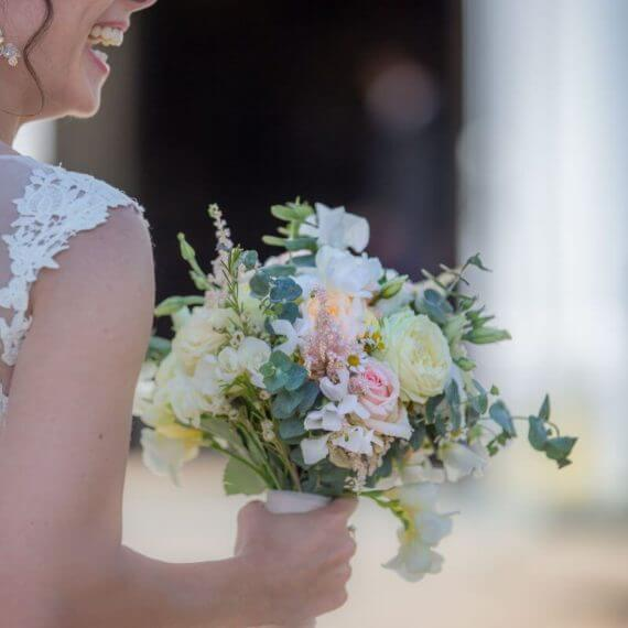 pasteloy bukiet ślubny