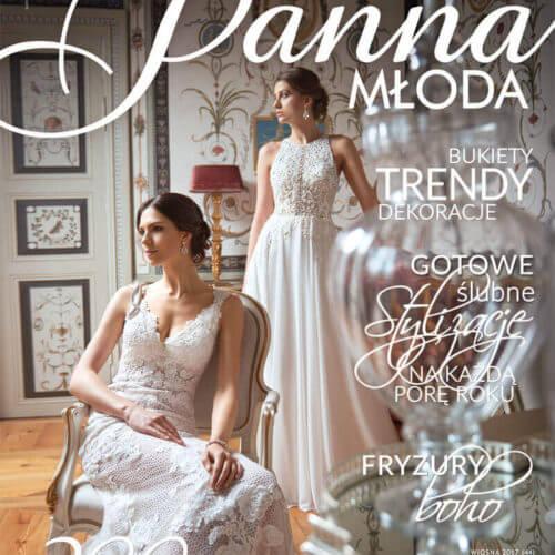 publikacja wmagazynie Panna Młoda sesji agencji ślubnej Wedding Angels