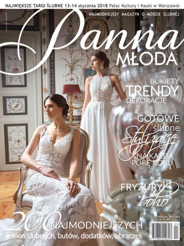 publikacja w magazynie Panna Młoda sesji agencji ślubnej Wedding Angels