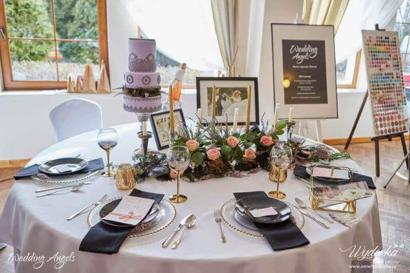 stoisko na targach ślubnych