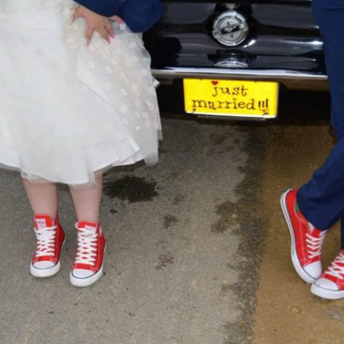 trampki doślubu