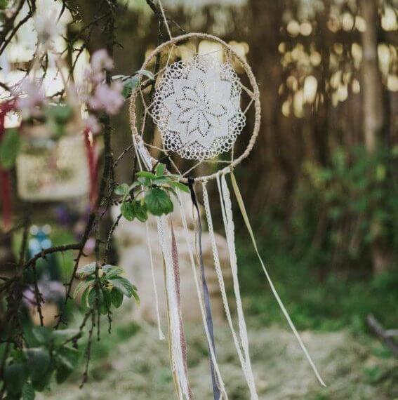 łapacz snów na ślubie