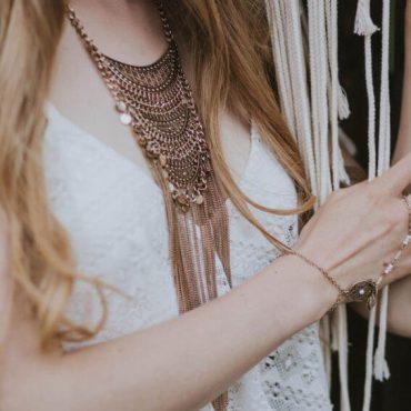 biżuteria nadłonie boho