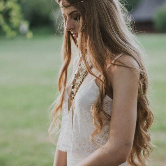 biżuteria ślubna boho