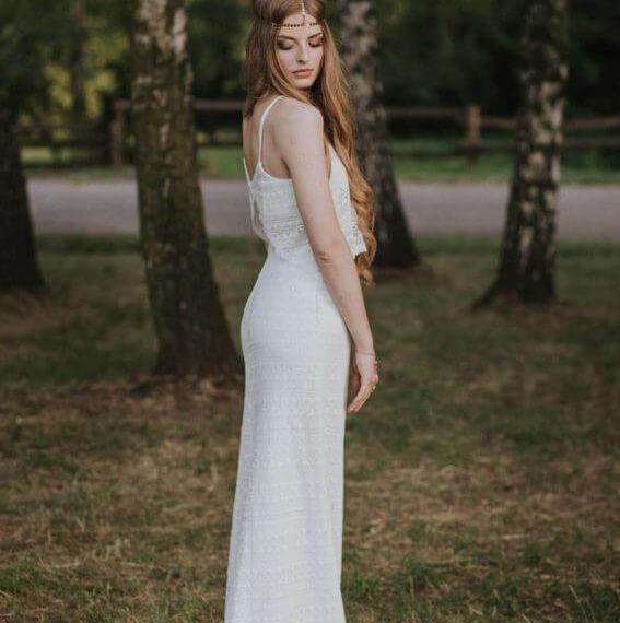 suknia boho
