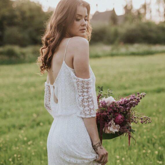 suknia slubna boho