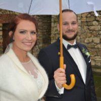 ślub w deszczowy dzień