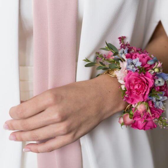 bransoleta z kwiatów czyli korsarz