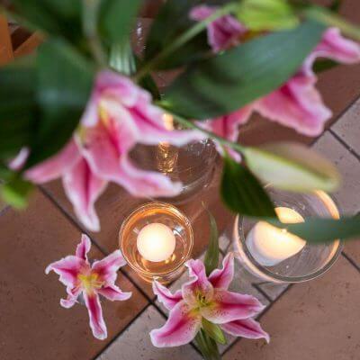 lilie w kościele
