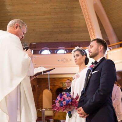 Para Młoda podczas mszy