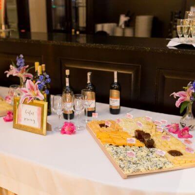 bufet serowy na weselu
