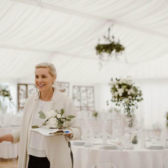 konsultant śubny Wedding Angels podczas koordynacji dnia ślubu