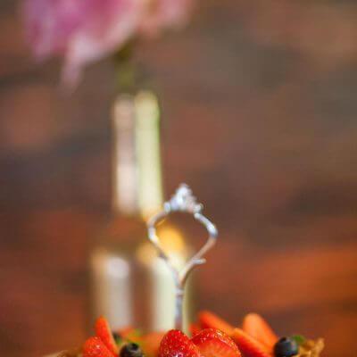 babeczki truskawkowe napaterze