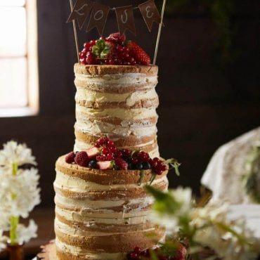 naked cake zowocami